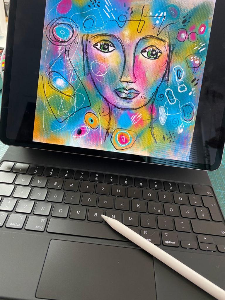 IPad Pro mit Stift
