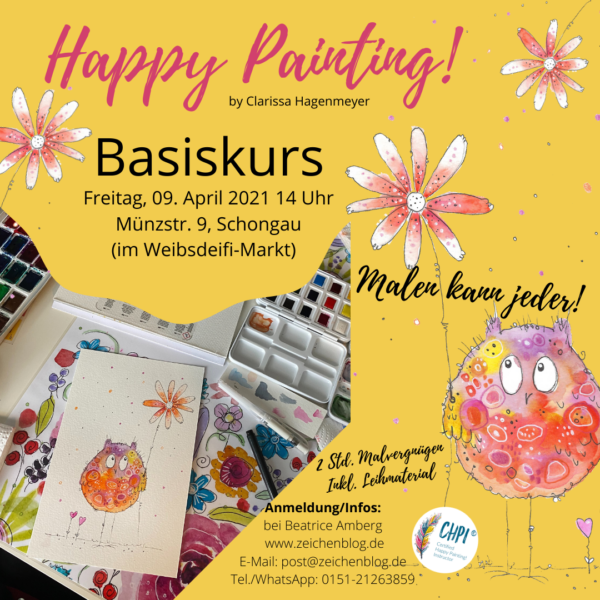 Happy Painting Basiskurs SOG April
