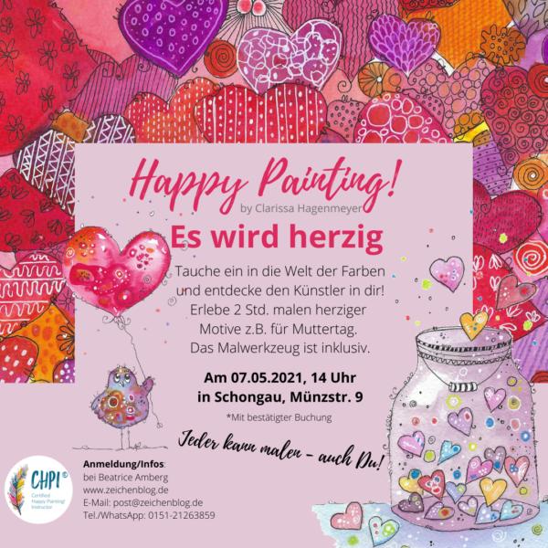 Happy Painting! es wird herzig in Schongau
