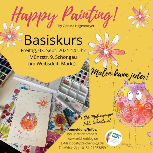 Happy Painting! Basiskurs in Schongau