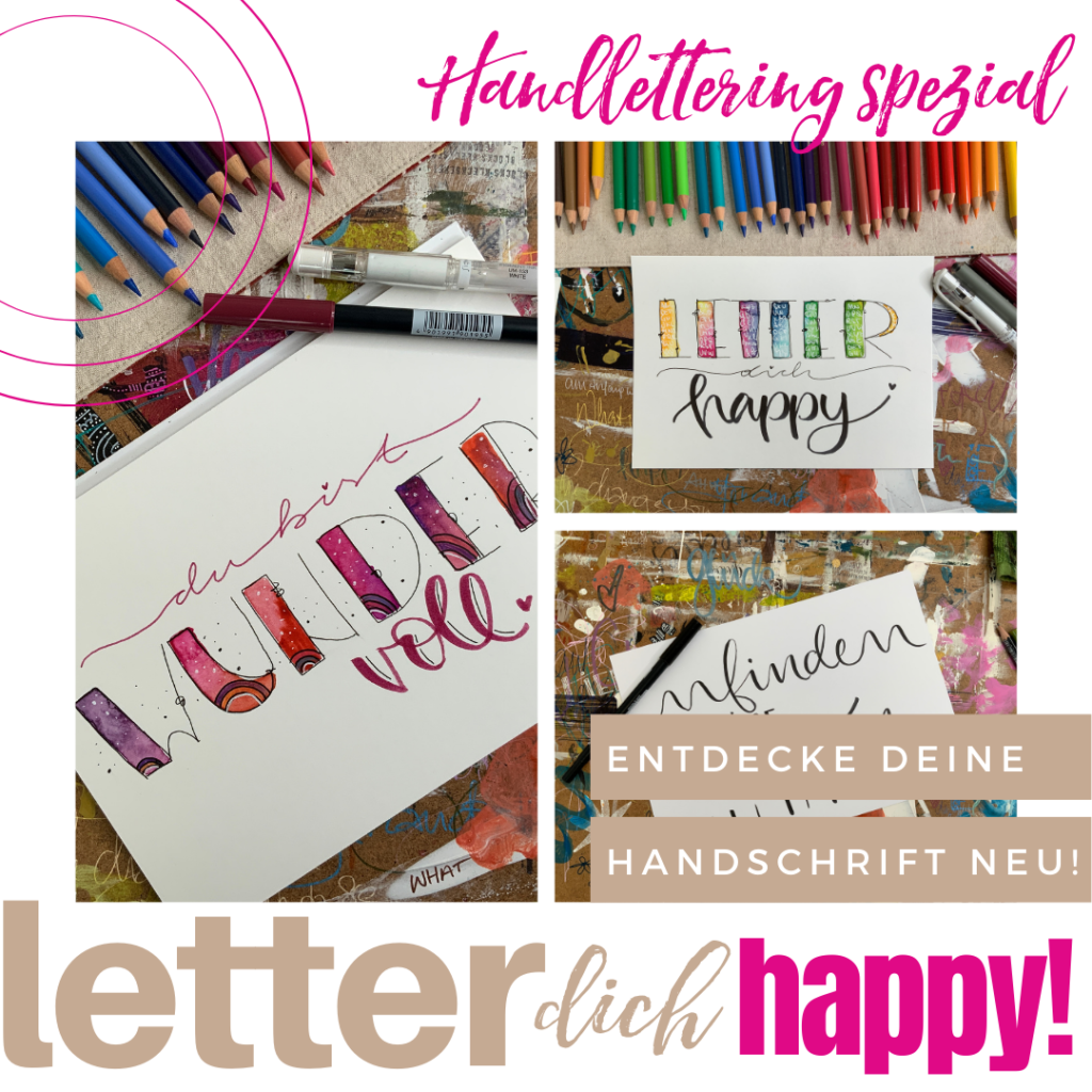Letter dich happy
