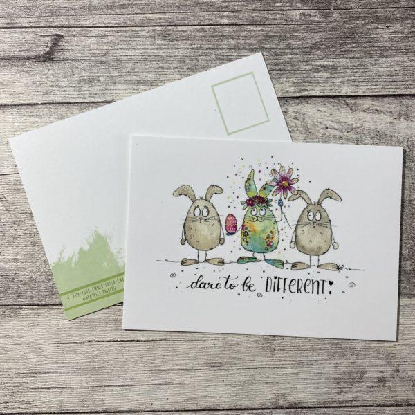 postkarte sei besonders